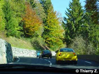 Rassemblement de Coupés Fiat en Haute-Savoie