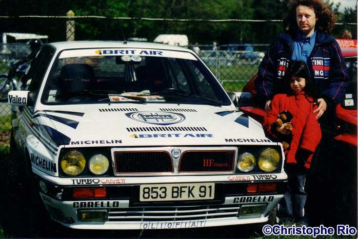 La 8V aux couleurs du Martini Racing