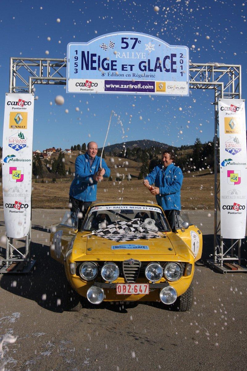 Alfa Romeo Coupé Bertone - Yves Deflandre-Eddy Gully / Photo Tom Zaniroli