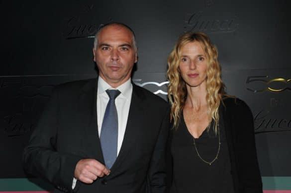 Christophe Bertoncini et Sandrine Kiberlain