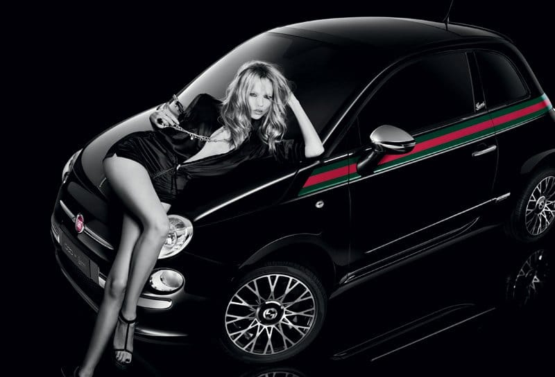 Pub Fiat 500 by Gucci
