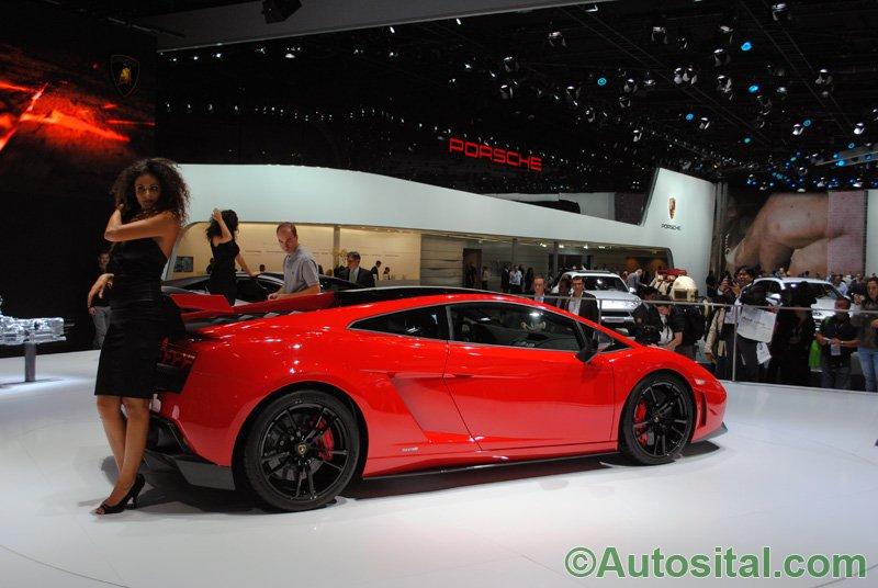 Francfort 2011 - Lamborghini Gallardo LP 570-4 Super Trofeo Stradale
