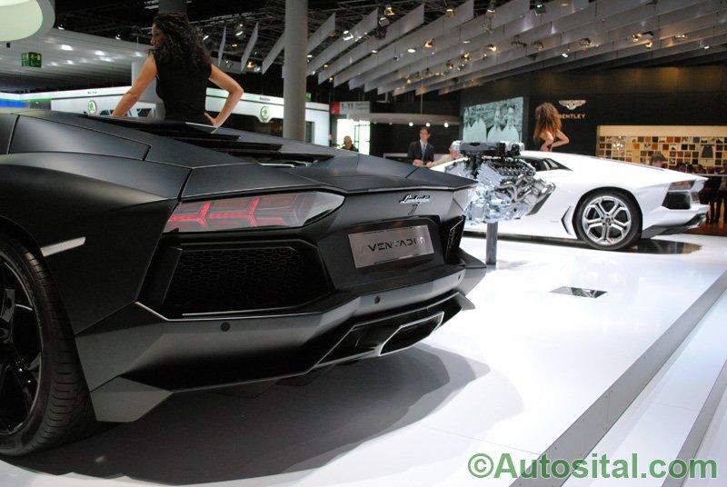 Francfort 2011 - Lamborghini Aventador