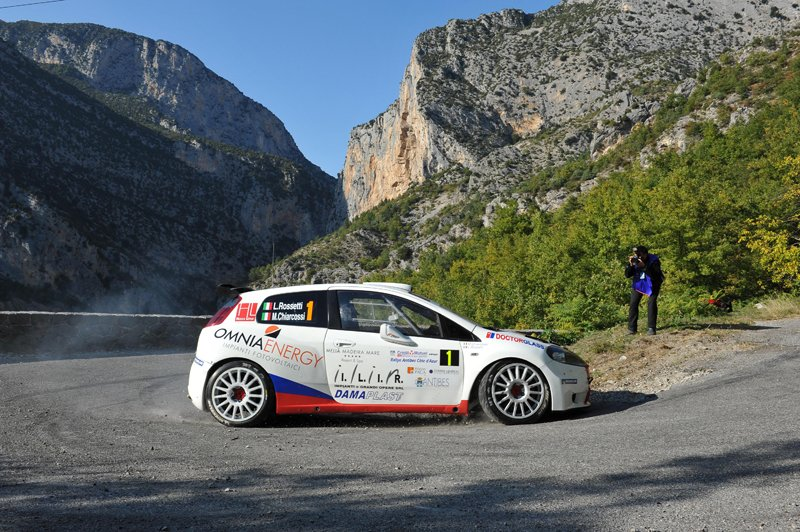 Luca Rossetti remporte le 46ème Rallye d'Antibes