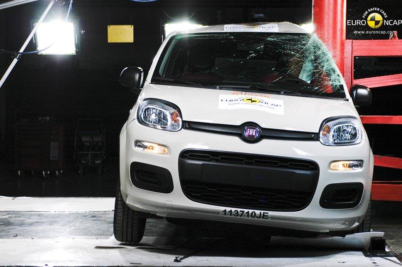 Crash-test EuroNCAP - Fiat Panda 3