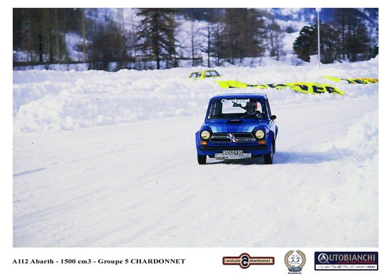 A112 Abarth Groupe 5 Chardonnet