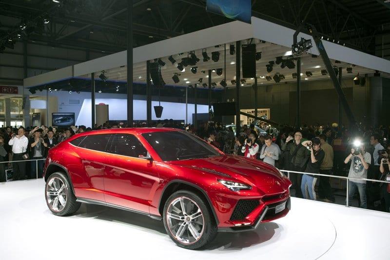 Concept Lamborghini Urus - Pékin 2012