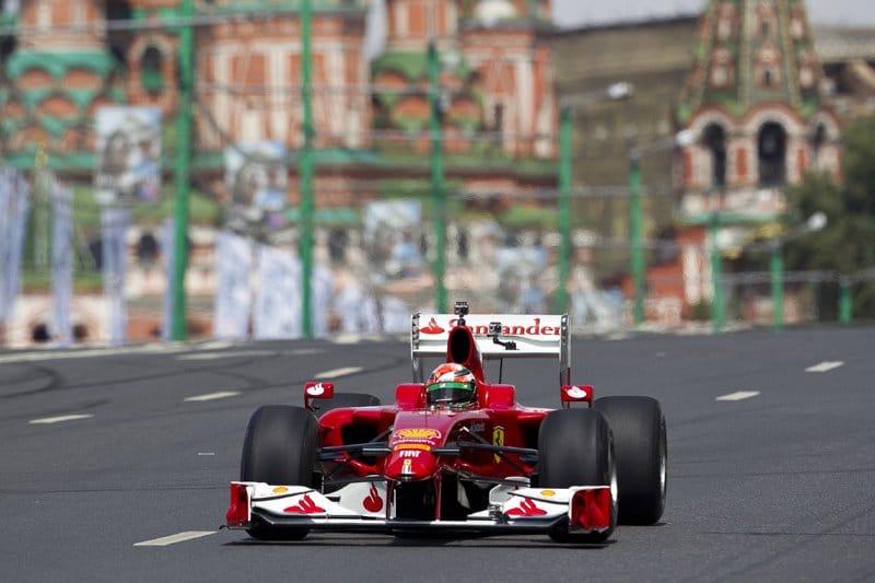 Cinquième édition du Moscow City Racing