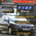 REVUE TECHNIQUE L'EXPERT AUTOMOBILE N° 370 FIAT MAREA / ESSENCE 1.6 16V / 1.8 16V / 2.0 20V / DIESEL 1.9 TD 75 / 1.9 TD…