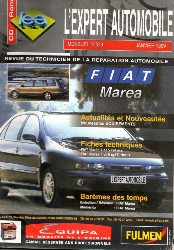 REVUE TECHNIQUE L'EXPERT AUTOMOBILE N° 370 FIAT MAREA