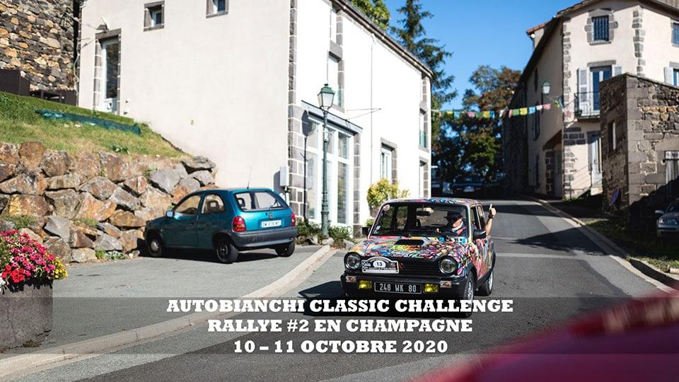 AUTOBIANCHI CHALLENGE CLASSIC #2 – LA CHAMPAGNE