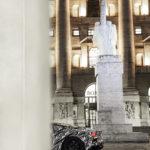 Mulet Maserati MC20 à Milan (2020)