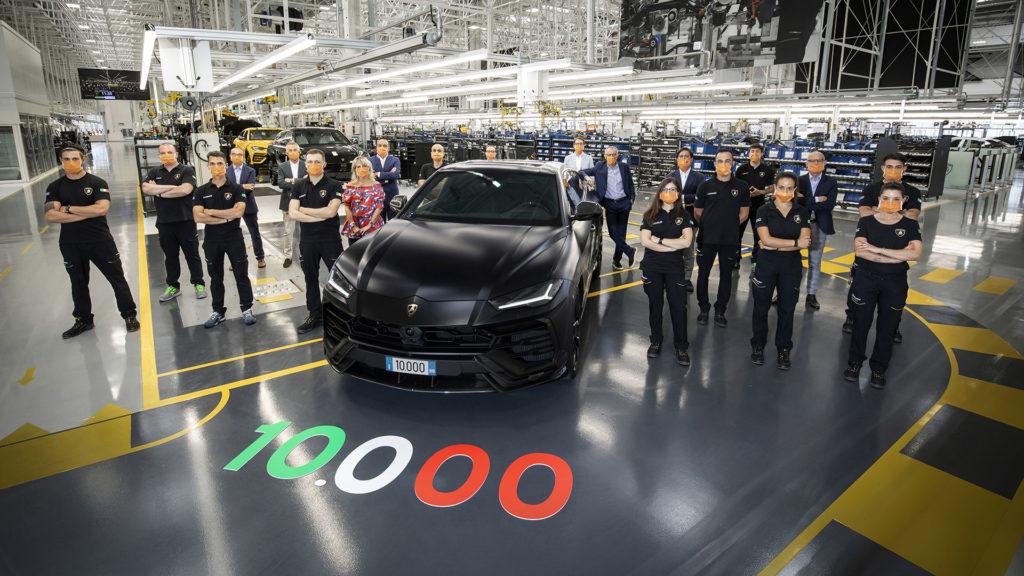 10 000 Lamborghini Urus produites !