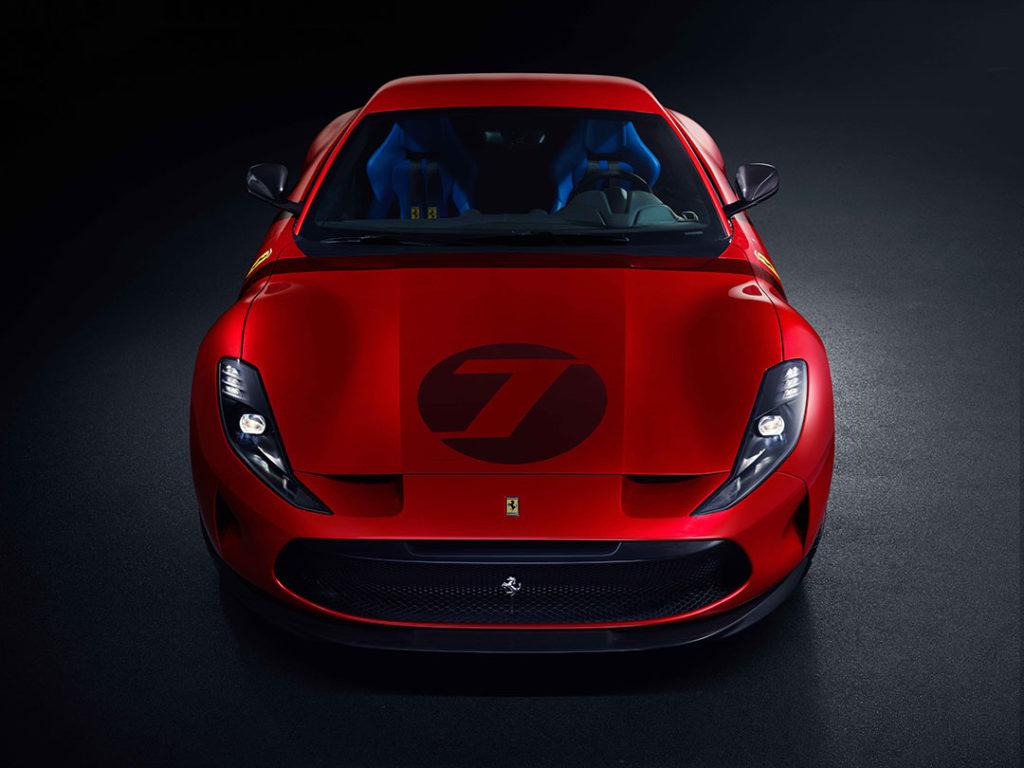 Ferrari Omologata, unique