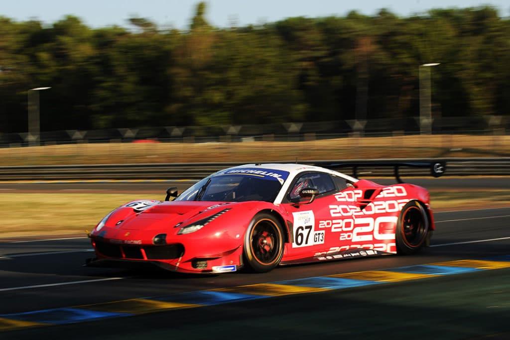 Ferrari sur le podium aux 24 Heures du Mans 2020