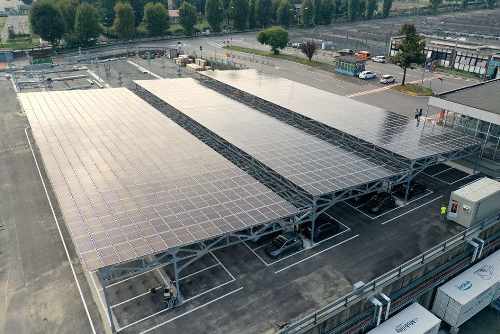 Inauguration du projet Vehicle-to-grid (V2G) à Mirafiori (2020)