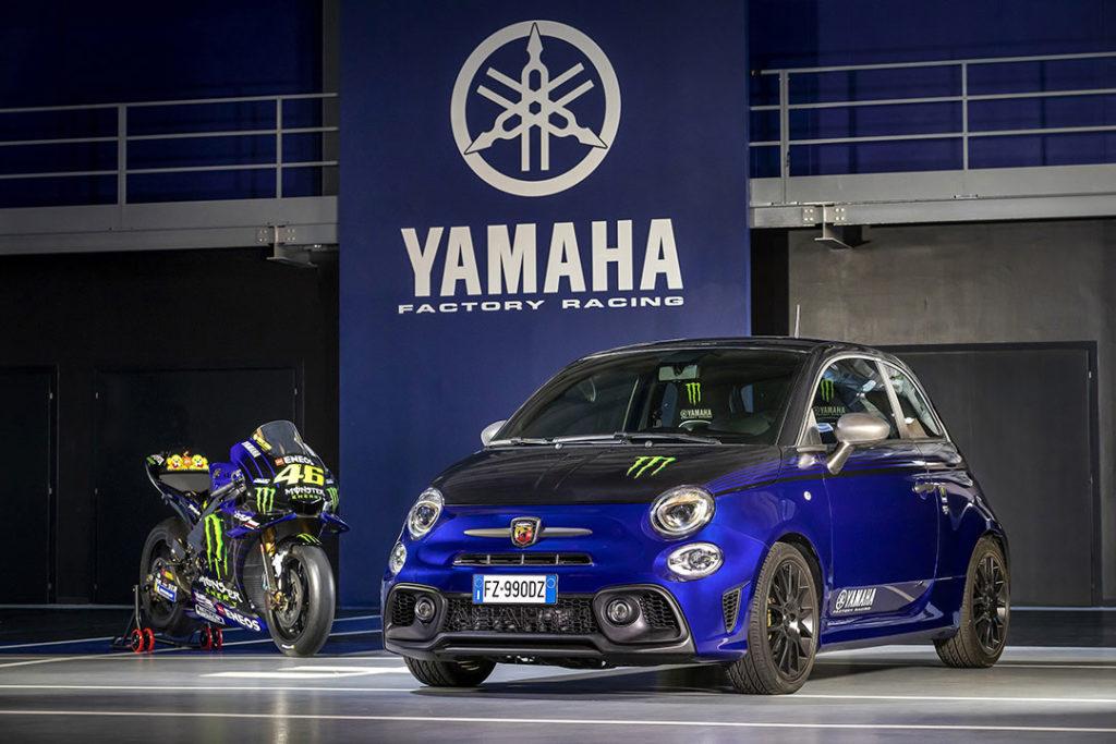 595 Scorpioneoro et 595 Monster Energy Yamaha, deux séries limitées chez Abarth