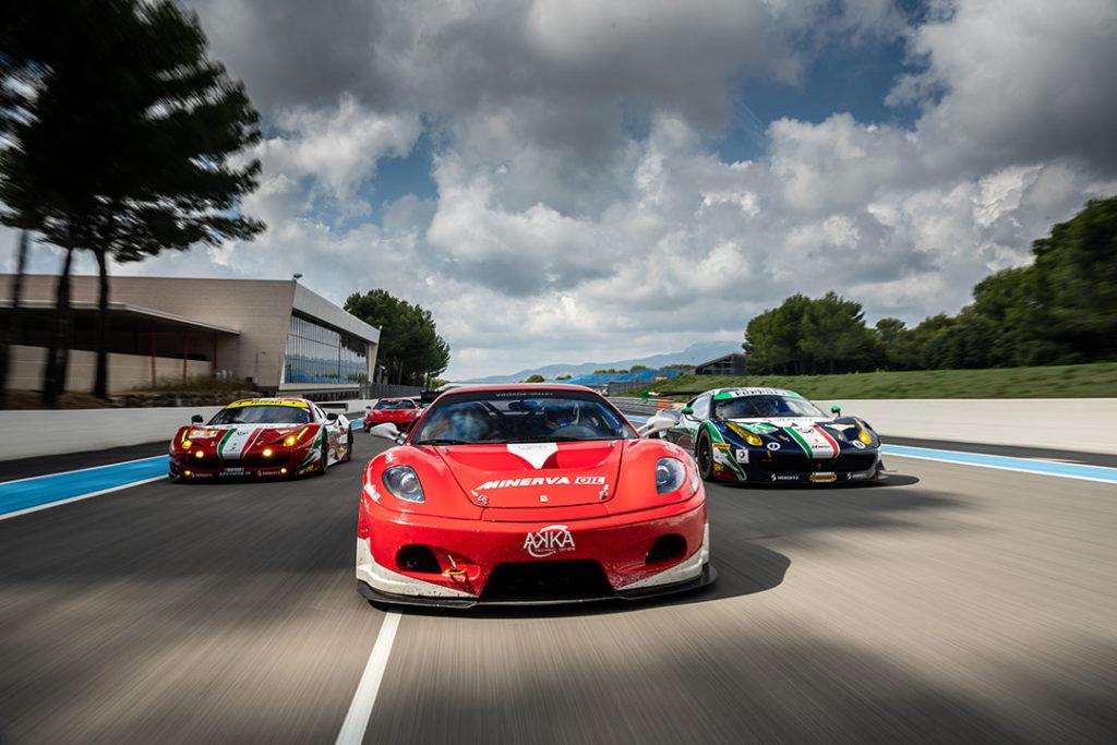 Ferrari réveille Le Castellet
