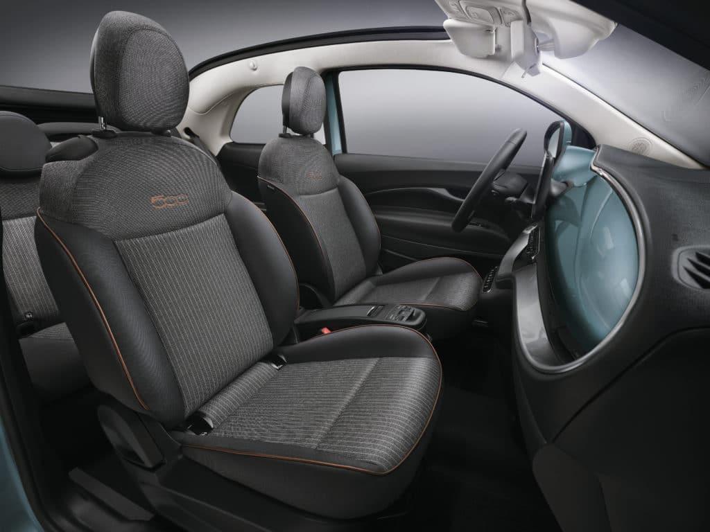 Nouvelle Fiat 500 électrique (2020)
