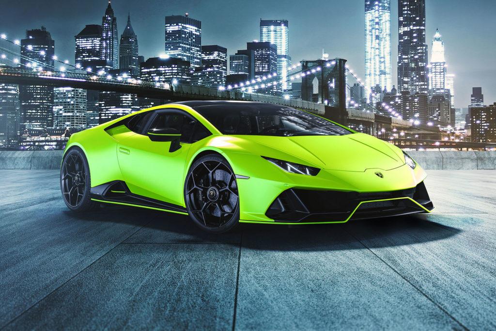 Lamborghini Huracan Evo Fluo Capsule (2020) – Photos officielles