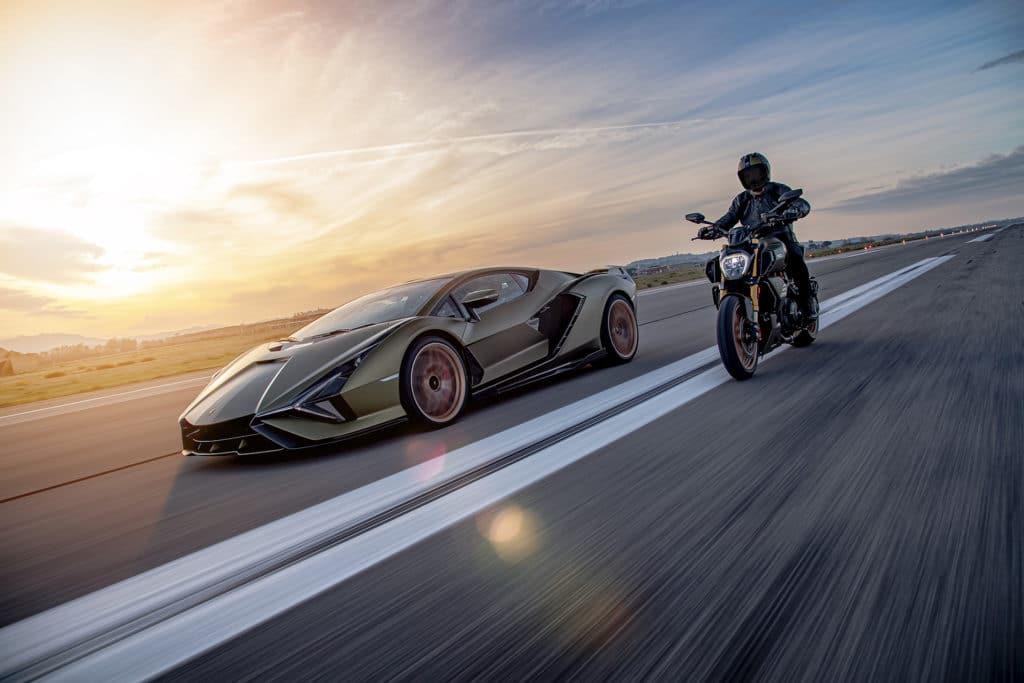 Ducati et Lamborghini s'associent pour lancer la Diavel 1260 Lamborghini !