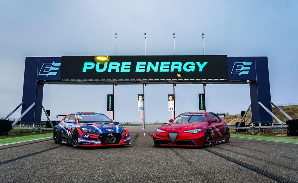 Une Alfa Romeo Giulia électrique pour la première saison du Pure ETCR