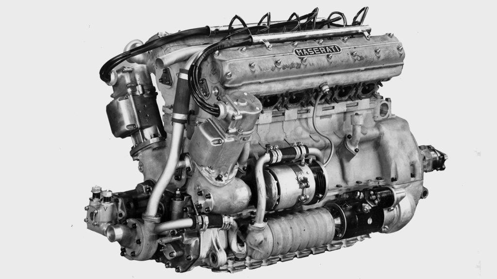 Maserati fête les 65 ans de la victoire de Fangio au volant de la Tipo 300S au Grand Prix du Venezuela