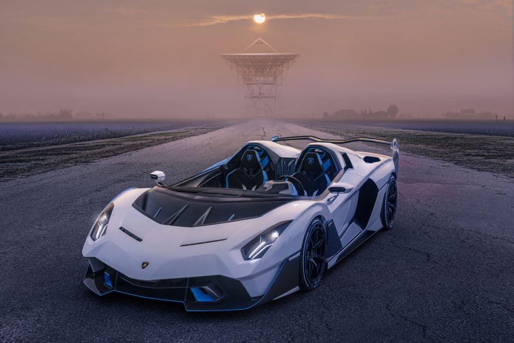 Lamborghini SC20, barquette extrême et unique
