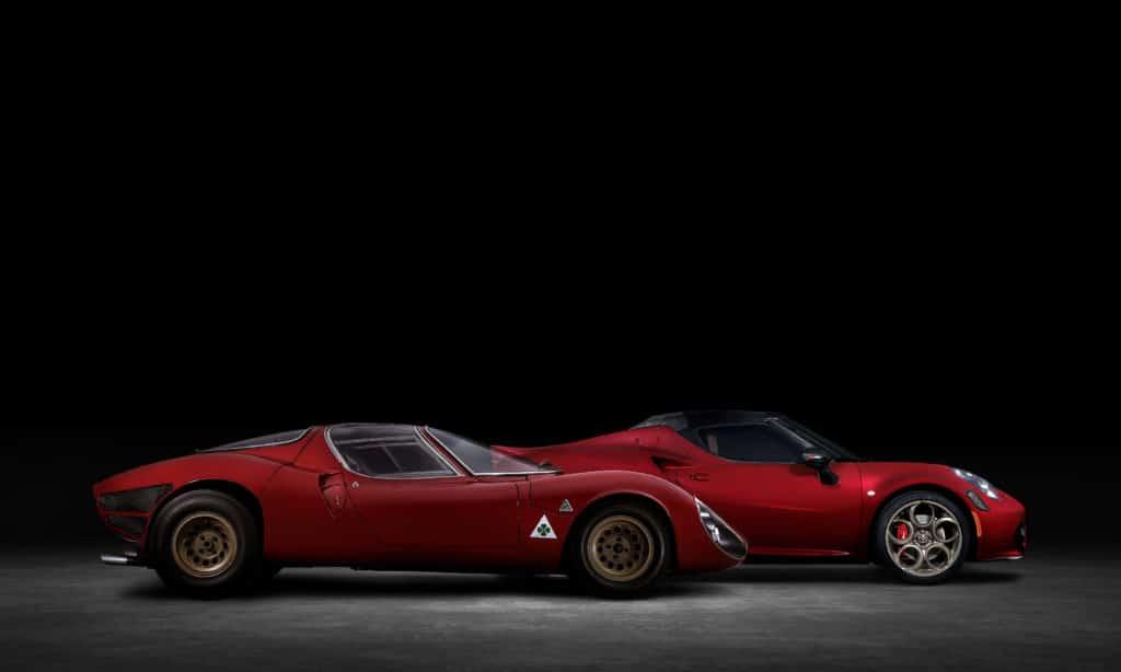 Alfa Romeo 4C Spider 33 Stradale Tributo