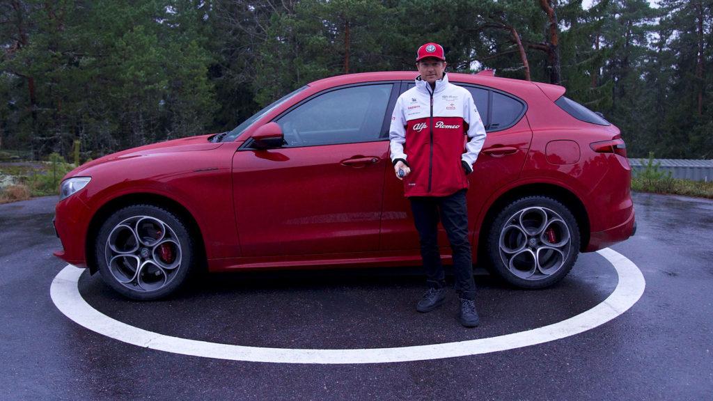 Alfa Romeo livre son Stelvio à Kimi Raïkkonen