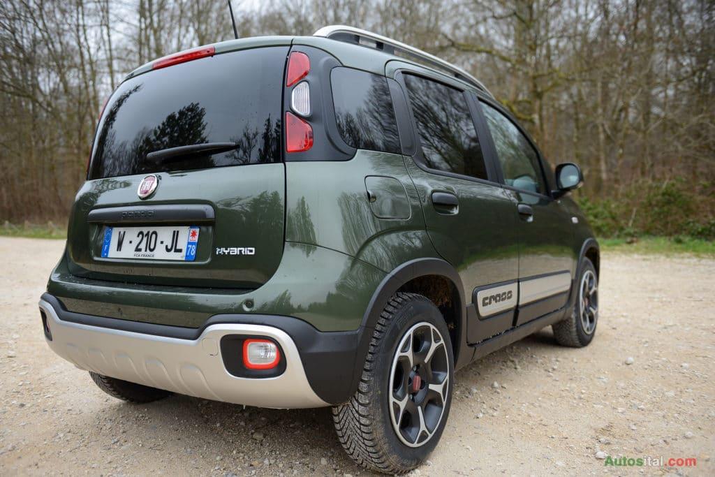 Fiat Panda City Cross Plus 1.0 Firefly 70 ch Hybrid