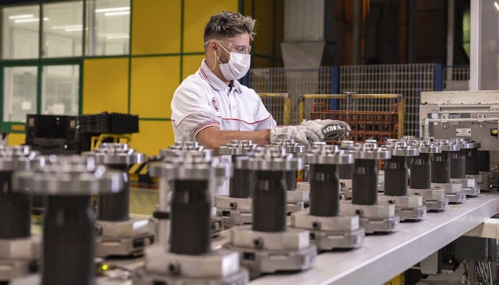 15 millions de transmissions produites à l'usine Fiat de Betim au Brésil