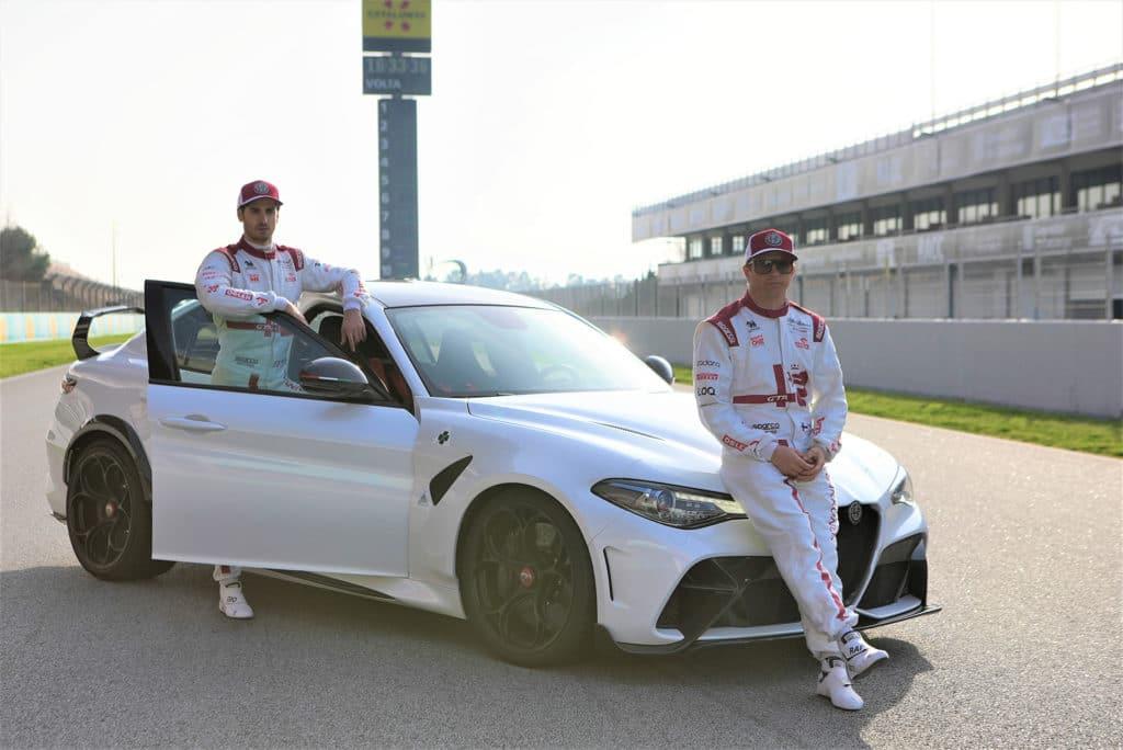 Les pilotes de l'écurie Alfa Romeo Racing ORLEN de F1 porteront les couleurs des Giulia GTA et GTAm