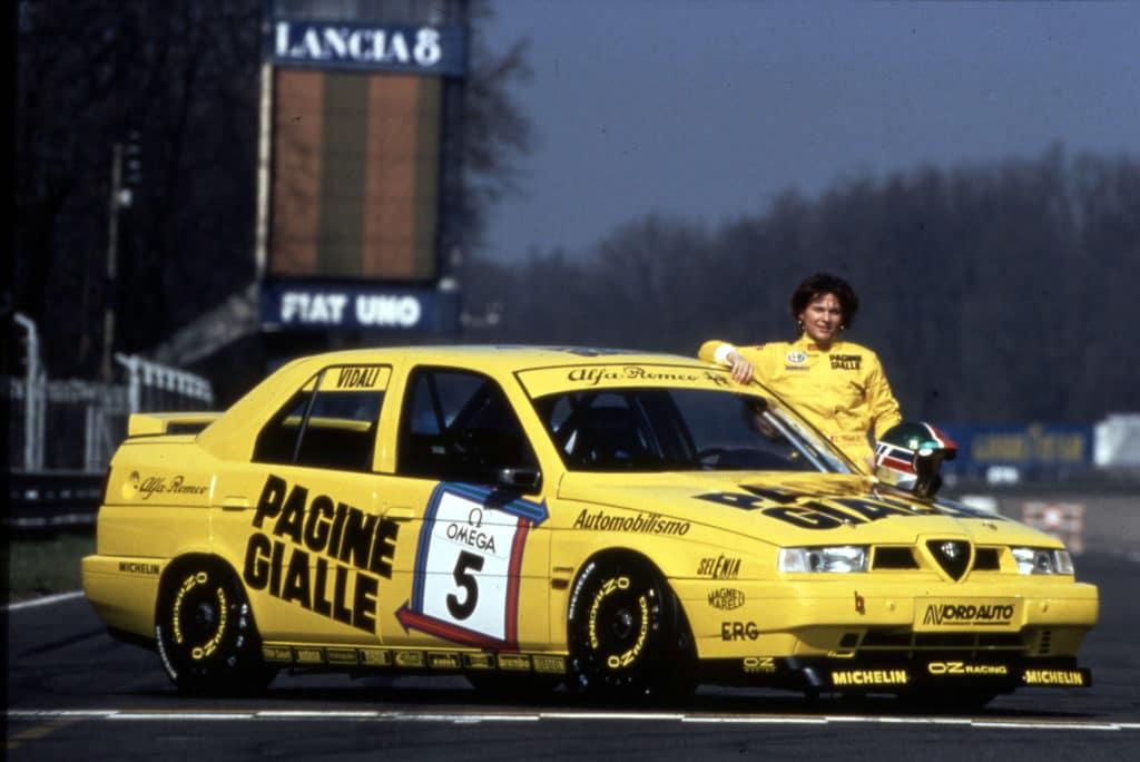 Tamara Vidali - Circuit de Monza 1994 - Alfa Romeo 155 D2