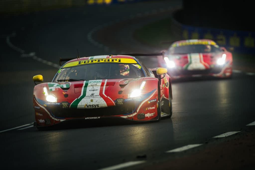 24 Heures du Mans 2020 - Ferrari