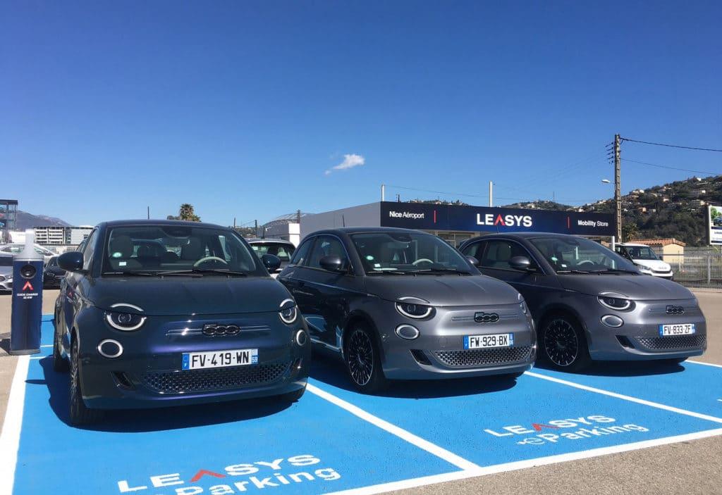 300 Fiat 500 électriques disponibles à la location chez Leasys
