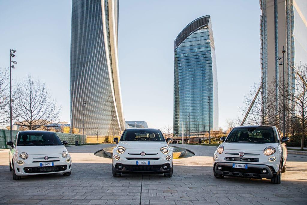 Séries spéciales Fiat 500, 500C, 500X et 500L Hey Google