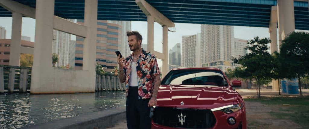 David Beckham nouvel ambassadeur Maserati