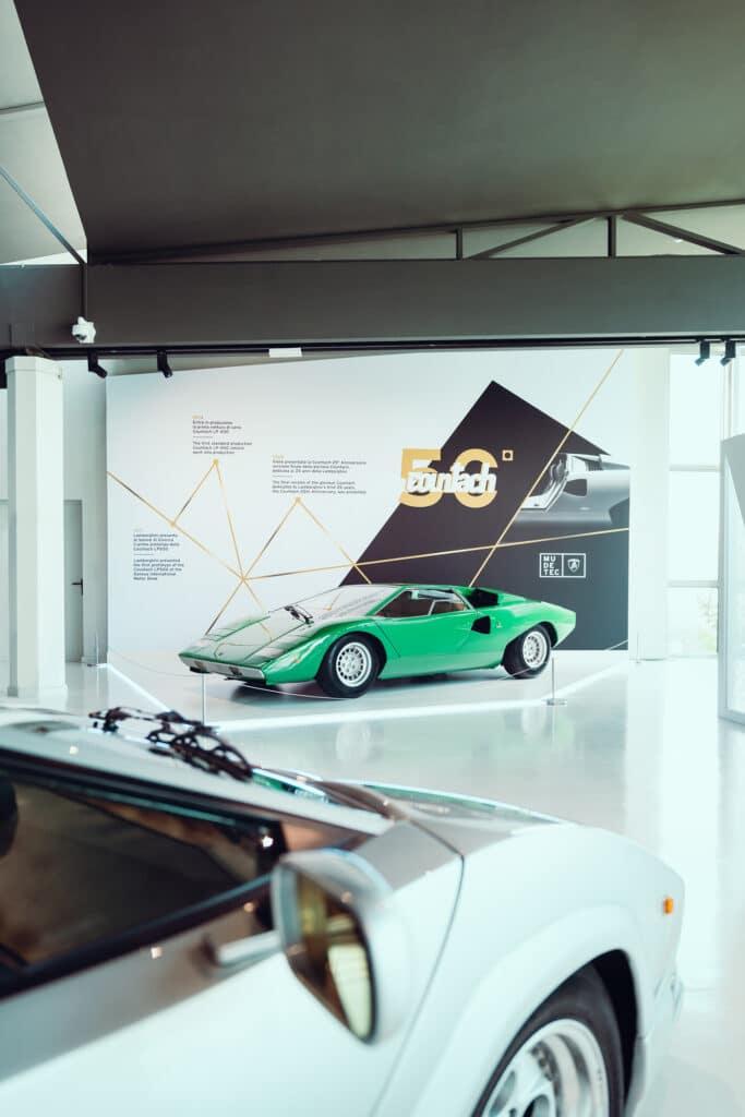 Réouverture du musée Lamborghini