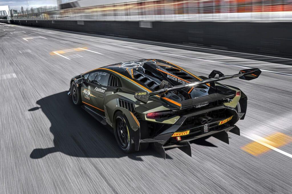 Lamborghini Huracán Super Trofeo EVO2