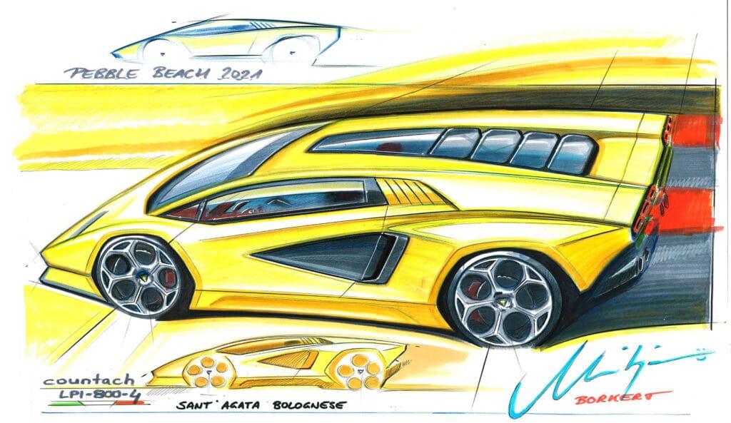 Lamborghini Countach LPI 800-4-1