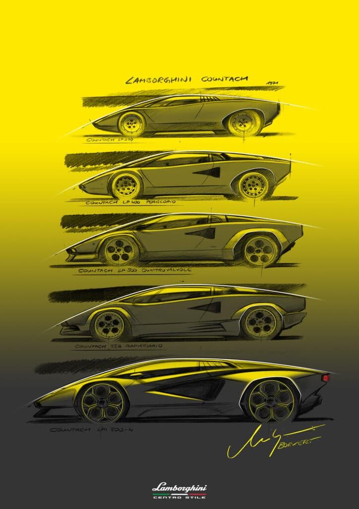 Lamborghini Countach LPI 800-4-12
