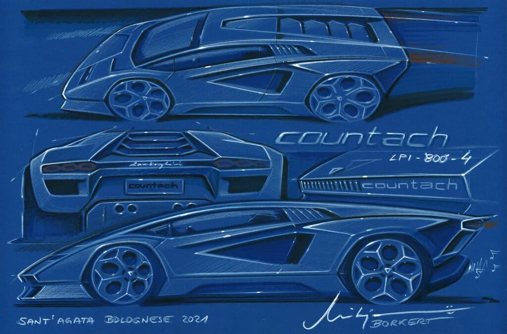 Lamborghini Countach LPI 800-4-2