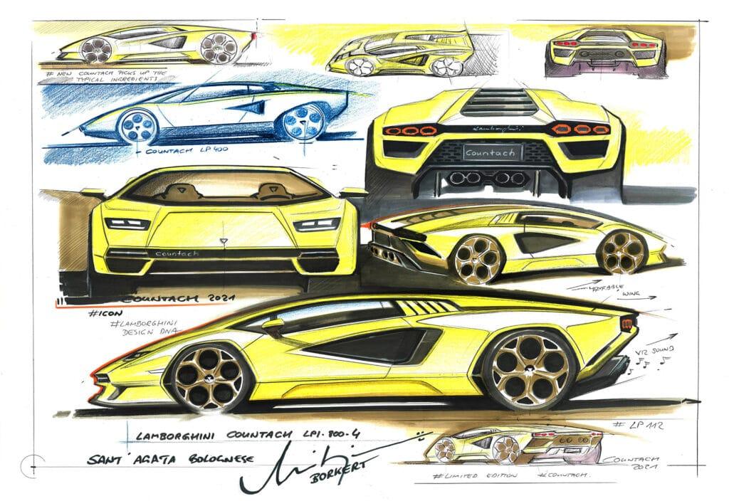 Lamborghini Countach LPI 800-4-3