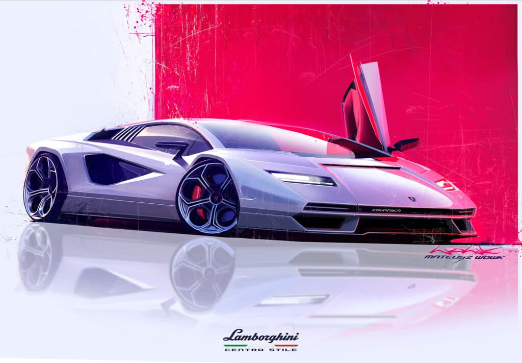 Lamborghini Countach LPI 800-4-5