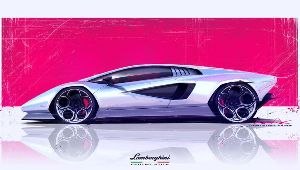 Lamborghini Countach LPI 800-4-6
