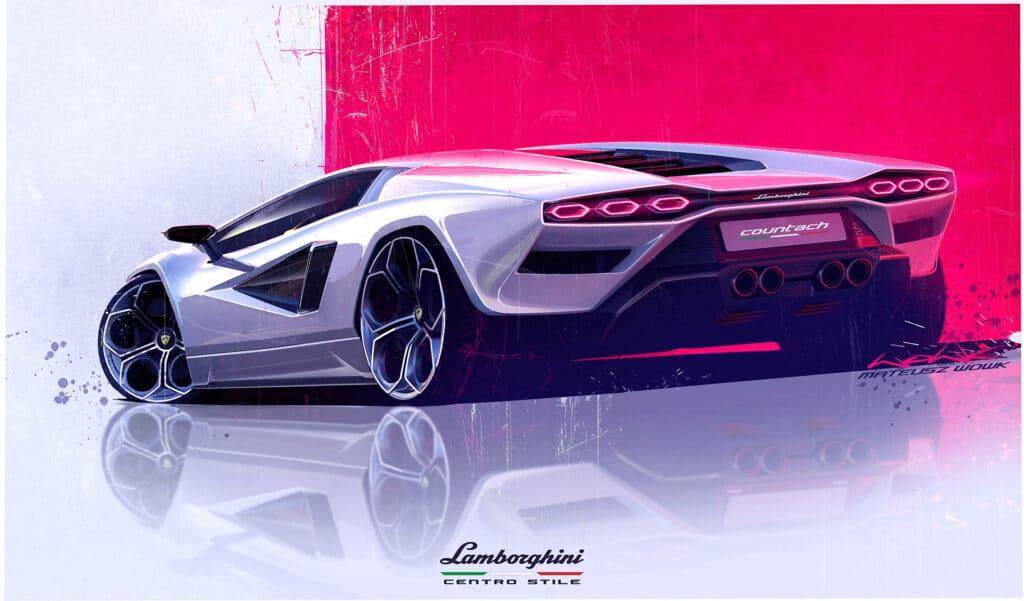 Lamborghini Countach LPI 800-4-9
